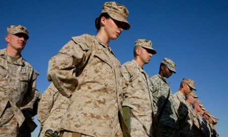 US women in military combat